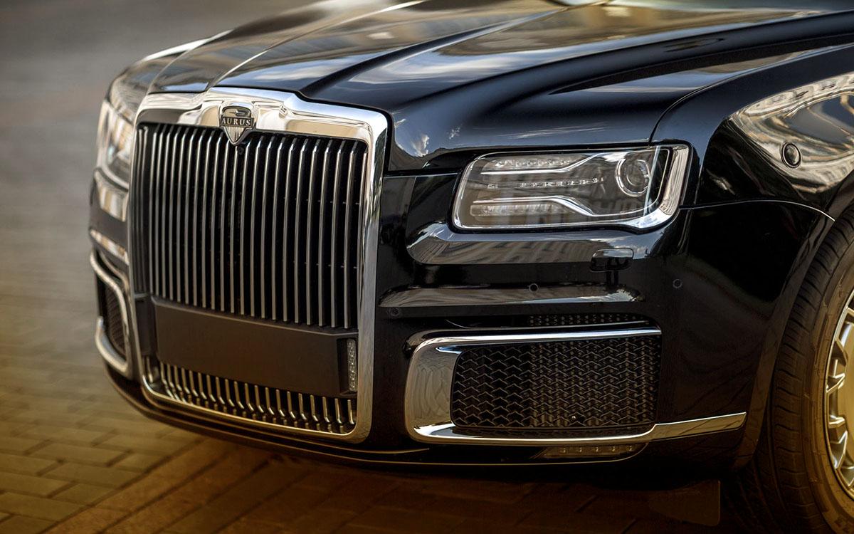 японцев восхитили российские автомобили Aurus