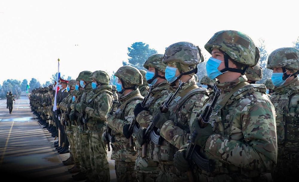 Кадры учений российского спецназа в Узбекистане
