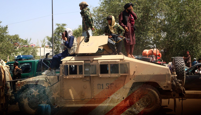 """Военный эксперт назвал простую причину, почему США """"забыли"""" в Афганистане оружие"""